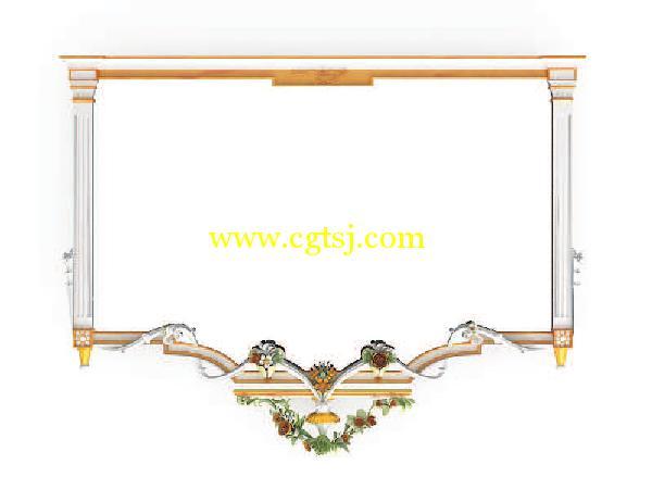 古典巴洛克与洛可可风格设计家具3d模型合辑的图片26