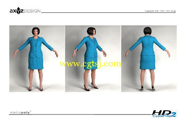 AXYZ Design出品高精度三维人物模型合辑的图片2