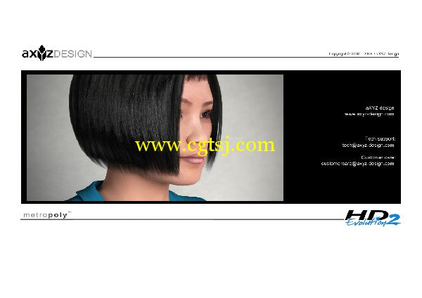 AXYZ Design出品高精度三维人物模型合辑的图片3