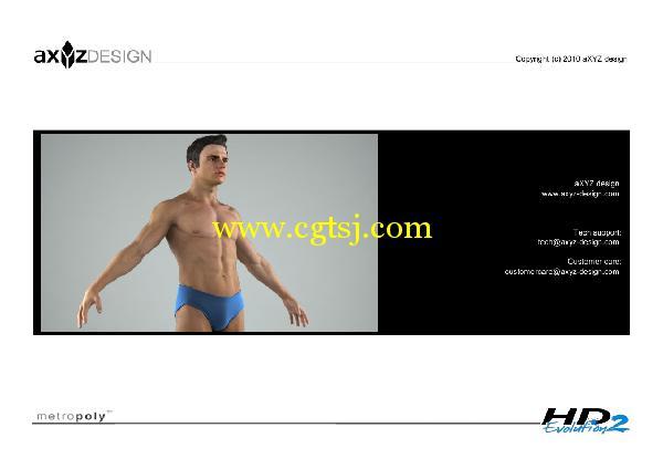 AXYZ Design出品高精度三维人物模型合辑的图片7