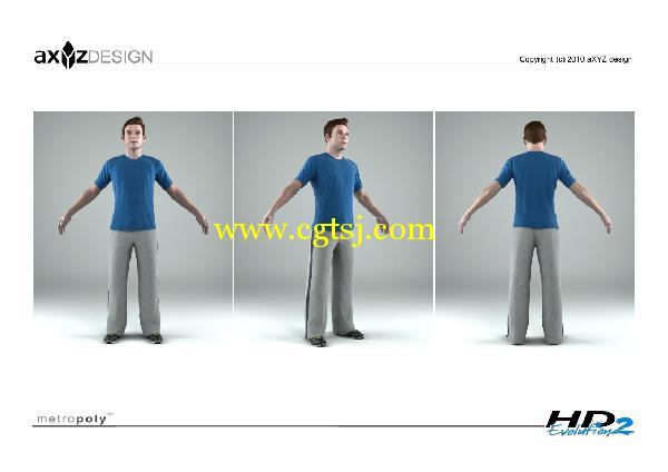AXYZ Design出品高精度三维人物模型合辑的图片9