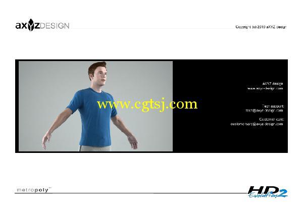 AXYZ Design出品高精度三维人物模型合辑的图片10