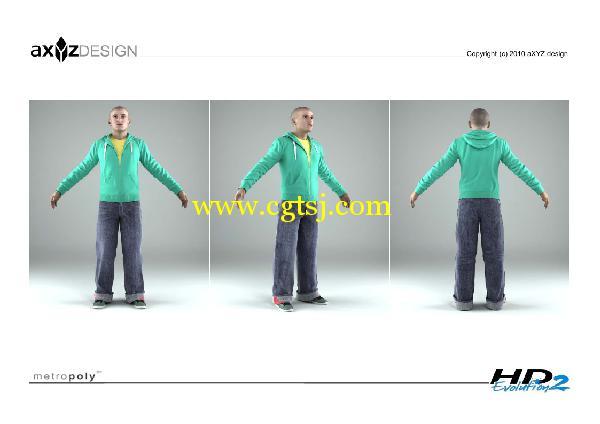 AXYZ Design出品高精度三维人物模型合辑的图片13