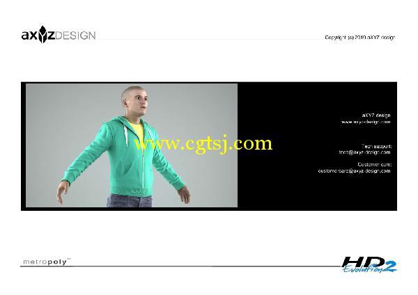 AXYZ Design出品高精度三维人物模型合辑的图片14