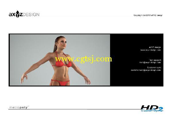 AXYZ Design出品高精度三维人物模型合辑的图片19
