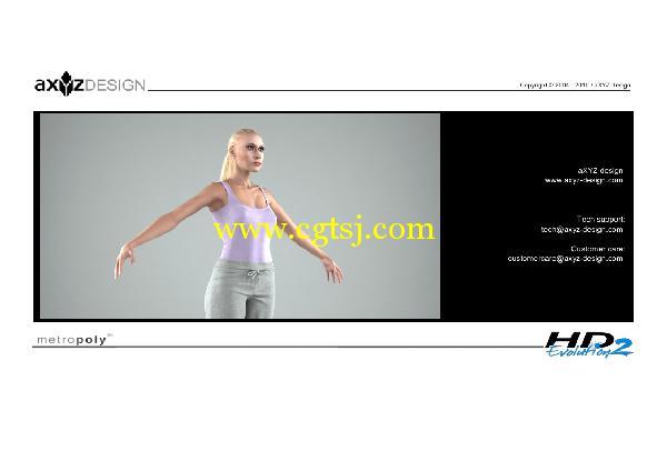 AXYZ Design出品高精度三维人物模型合辑的图片22