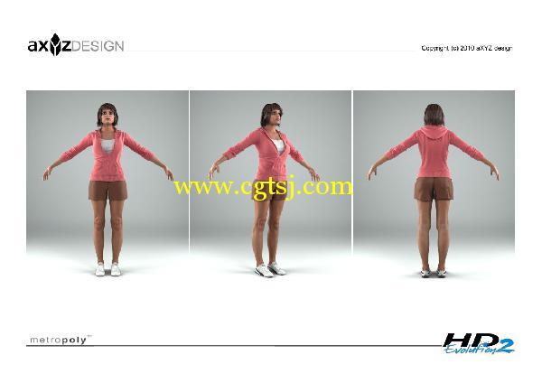 AXYZ Design出品高精度三维人物模型合辑的图片25