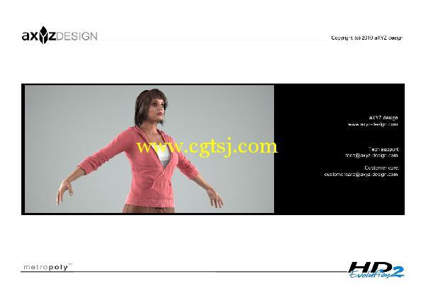 AXYZ Design出品高精度三维人物模型合辑的图片26
