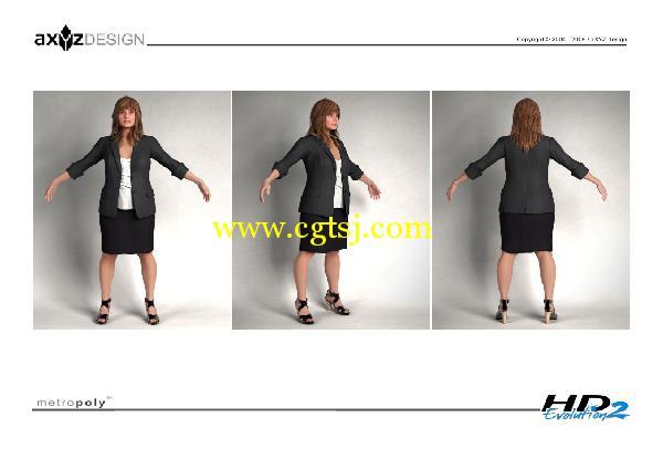 AXYZ Design出品高精度三维人物模型合辑的图片29