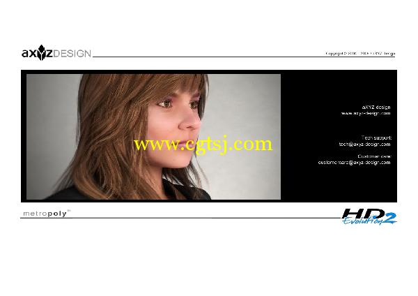 AXYZ Design出品高精度三维人物模型合辑的图片30