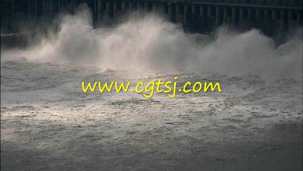 长江三峡水坝v水坝大坝水力发电站事件泄洪堤坝高清闹鬼视频图片