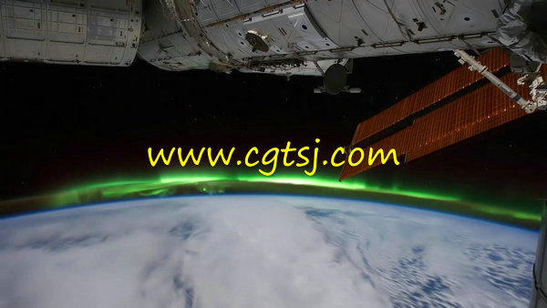 延时摄影从太空看地球视频集锦的图片3