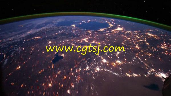 延时摄影从太空看地球视频集锦的图片4