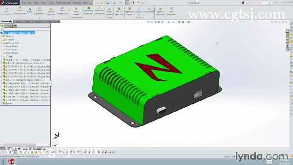 Solidworks产品外壳设计训练视频教程