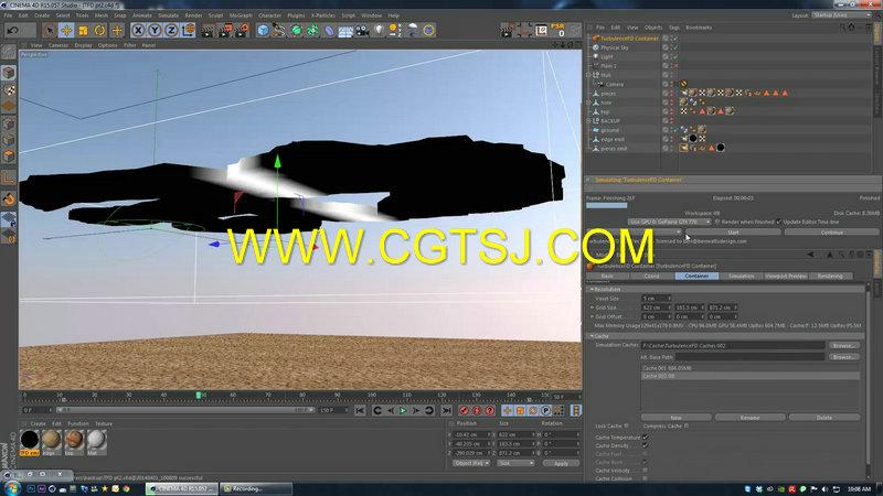 C4D地面裂痕视效技术视频教程第一季的图片3