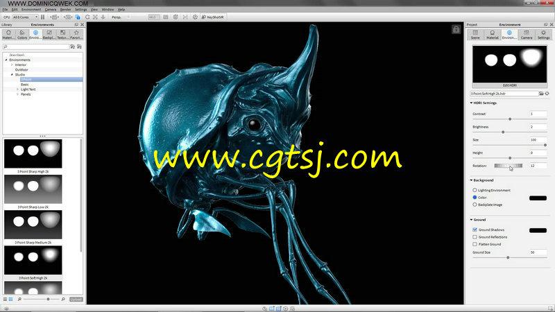 KeyShot与PS异形实例渲染技术视频教程的图片1