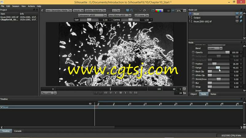 后期制作表情包_>> silhouettefx后期视效制作技术视频教程