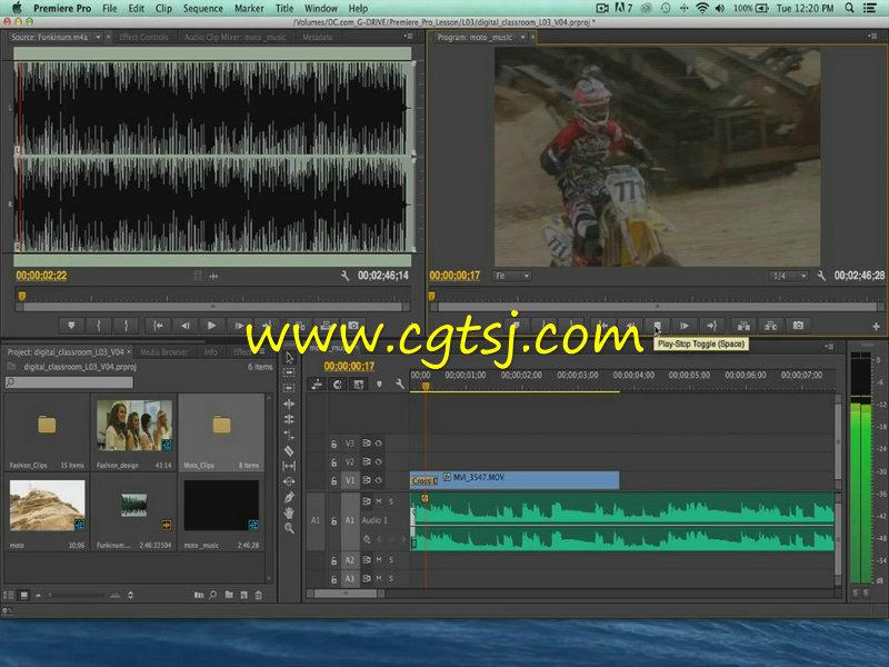 Premiere Pro CC从基础到深入使用技巧视频教程的图片2