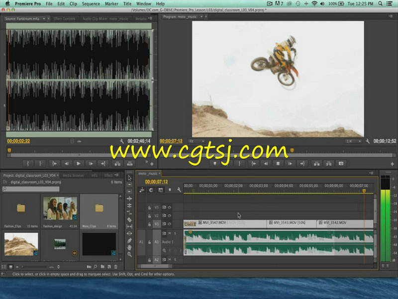 Premiere Pro CC从基础到深入使用技巧视频教程的图片3