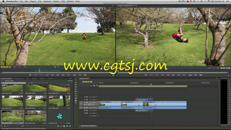 Premiere视频剪辑专业培训视频教程的图片2