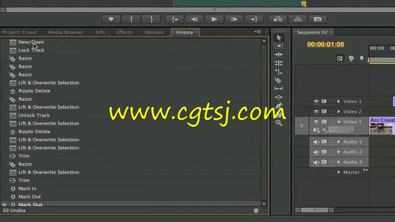 Premiere视频剪辑专业培训视频教程的图片3
