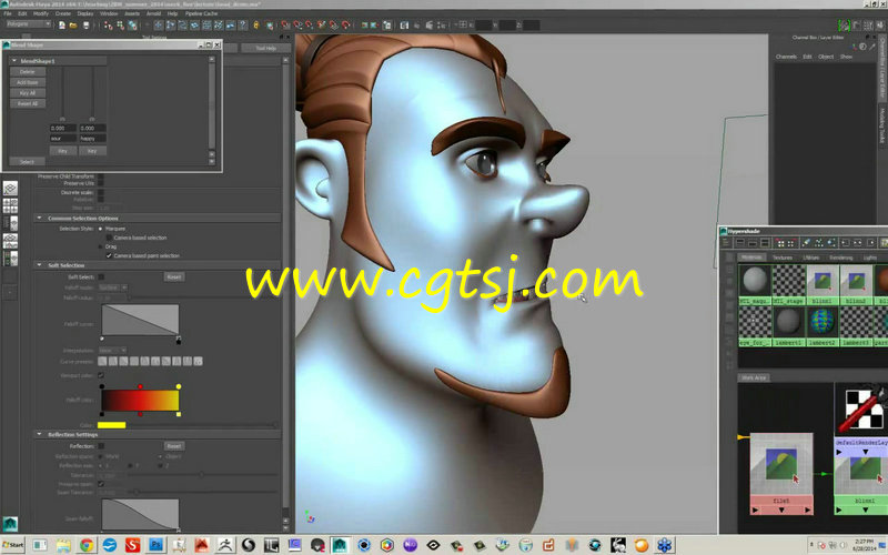 大师级三维�_>> 超级角色从二维到三维大师级设计训练视频教程
