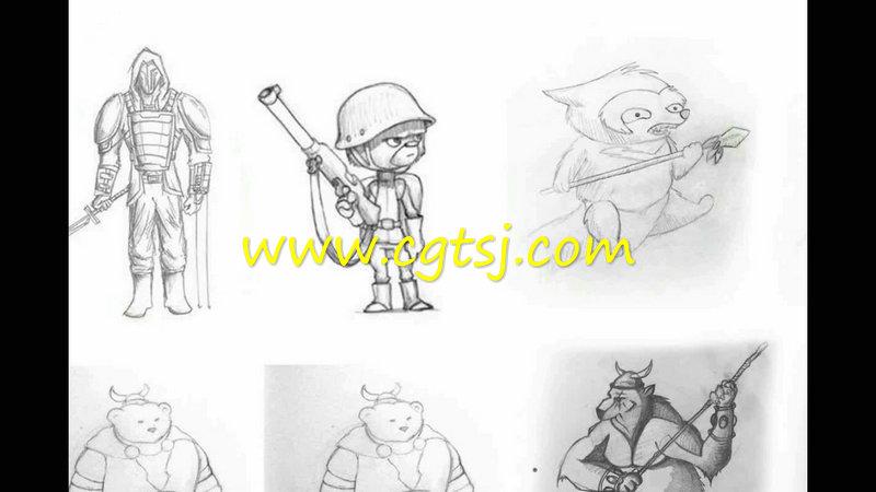 儿童图书插画设计训练视频教程的图片2