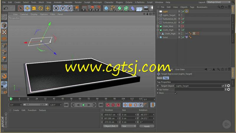C4D油漆气泡风化特效制作视频教程的图片2