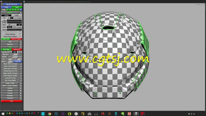 Maya电影级钢铁侠完整实例制作视频教程的图片3
