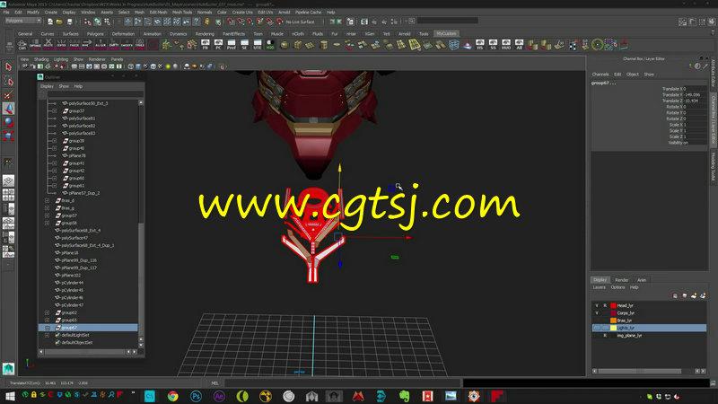 Maya电影级钢铁侠完整实例制作视频教程的图片4