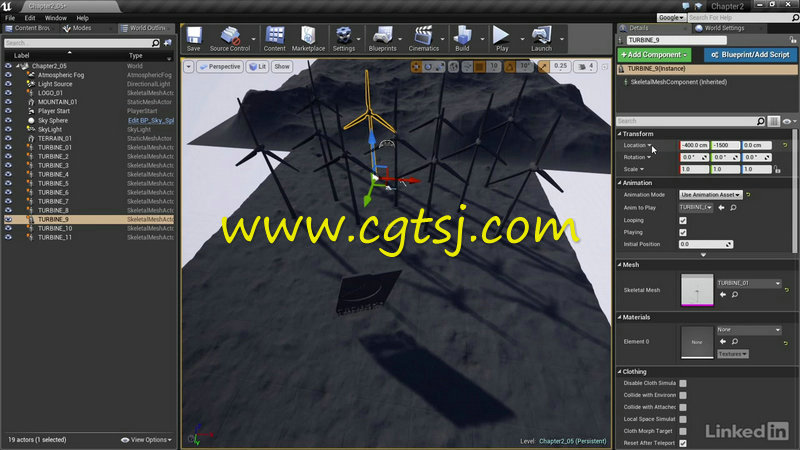 Unreal Engine 4游戏动画特效制作视频教程的图片1