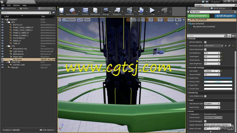 Unreal Engine 4游戏动画特效制作视频教程的图片4