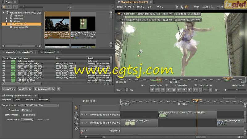 Hiero广告拍摄视效协作实例训练视频教程的图片1