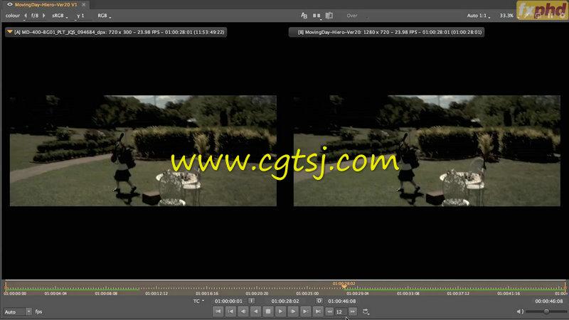 Hiero广告拍摄视效协作实例训练视频教程的图片2