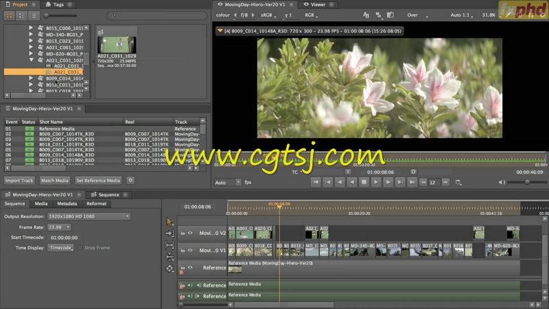 Hiero广告拍摄视效协作实例训练视频教程的图片3