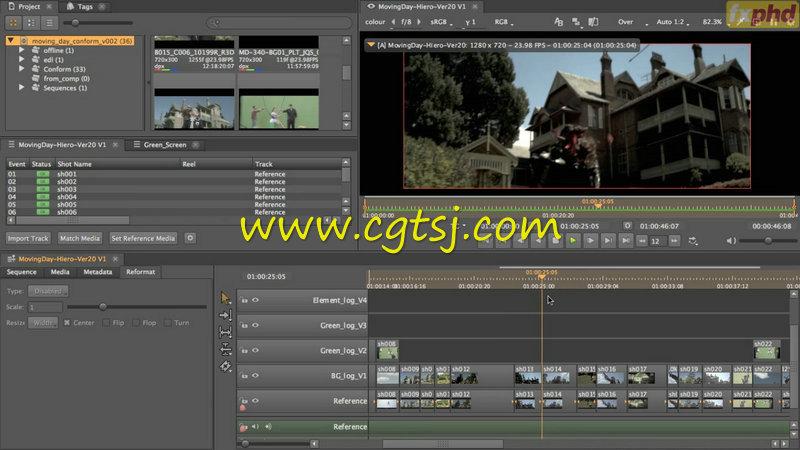 Hiero广告拍摄视效协作实例训练视频教程的图片4