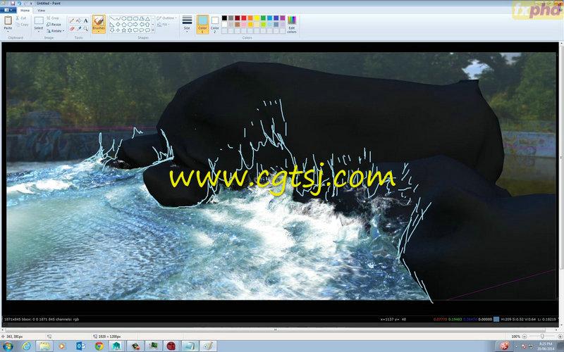 Maya中Bifrost流体特效高阶技巧视频教程的图片2