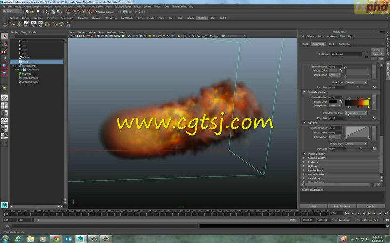 Maya中Bifrost流体特效高阶技巧视频教程的图片5