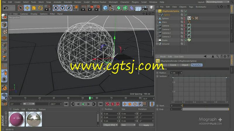 Vray渲染技术在C4D中的应用训练视频教程的图片1
