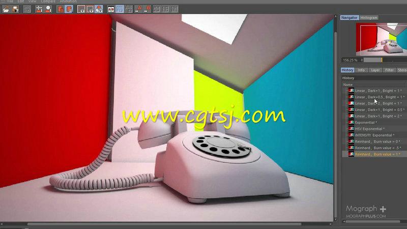 Vray渲染技术在C4D中的应用训练视频教程的图片2