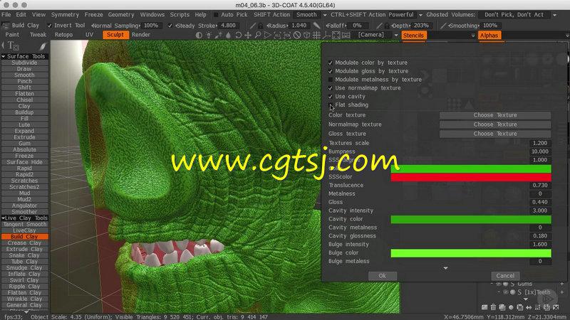 3DCoat概念角色雕刻技术训练视频教程的图片2