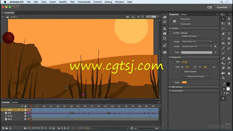 Animate CC 2017新功能训练视频教程的图片1