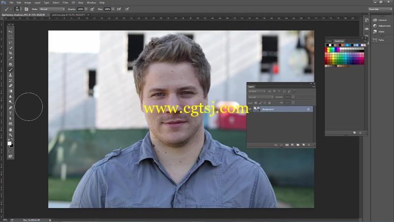 PS中Camera RAW滤镜肖像修饰技巧视频教程的图片1
