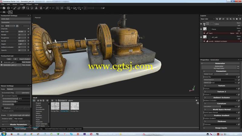 Substance Painter游戏纹理贴图技术视频教程的图片5