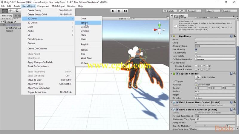 Unity 5游戏开发经验指南视频教程的图片2