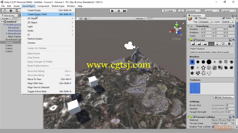 Unity 5游戏开发经验指南视频教程的图片3