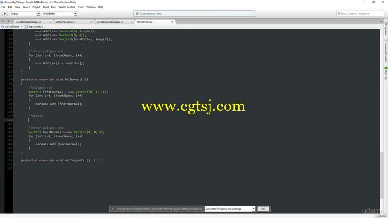 Unity编程制作几何网格地形实例训练视频教程的图片1