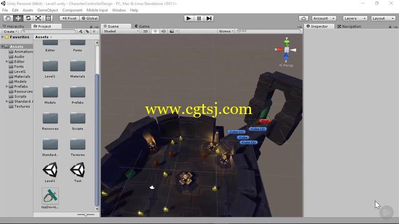 Unity游戏原型开发技术视频教程的图片2