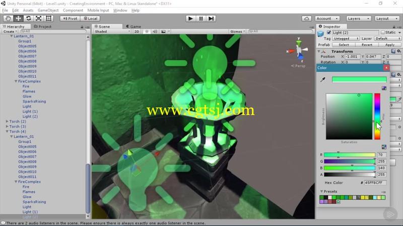 Unity游戏原型开发技术视频教程的图片3