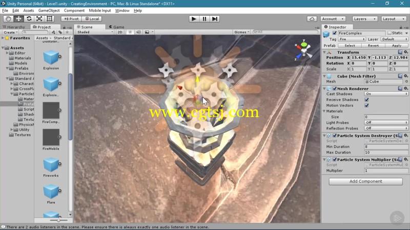 Unity游戏原型开发技术视频教程的图片4